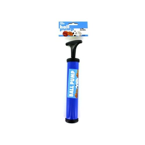 """Bulk Buys GM165-72 14"""" x 14"""" x 14"""" Ball Pump with Needle - Pack of 72"""
