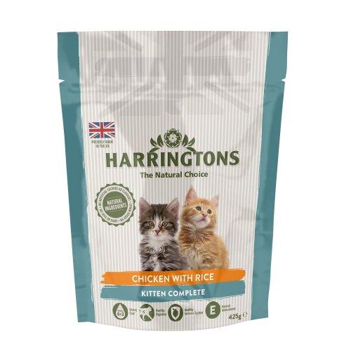 Harrington's Kitten Food Complete 425 g, Pack of 5