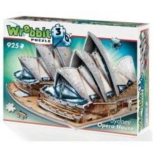 Wrebbit Sydney Opera House 3d Jigsaw Puzzle (925 Pieces)