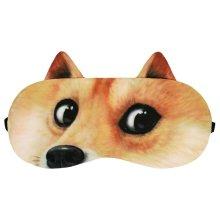 Interesting Expression Eye Cover Sleep Goggles Sleeping Mask