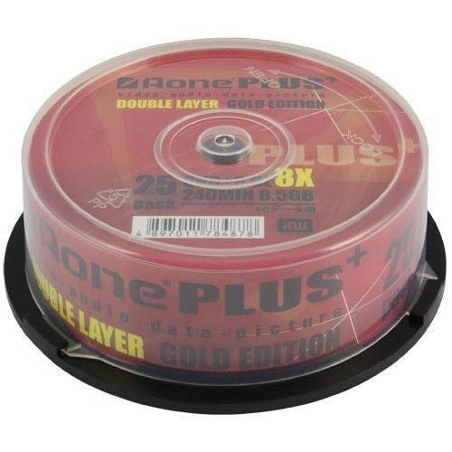 Aone DVD+R 8x 8.5GB DL Dual Layered Log Cake Box