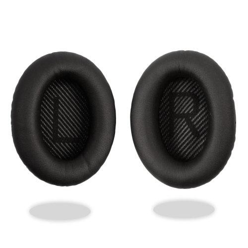 [REYTID] Bose QuietComfort 35 QC35 Replacement Ear Cushion Kit / Ear Pads - Black