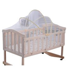 Foldable Insect Netting for Cribs Mosquito Net with Steady (Random Color)
