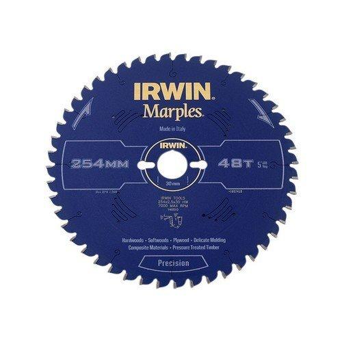 Irwin 1897459 Marples Mitre Saw Blade For Wood 254mm 48 Teeth