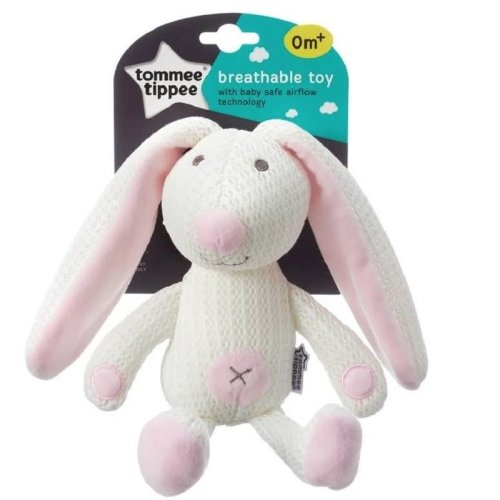 Tommee Tippee Breathable Toy - Rabbit - 0m+