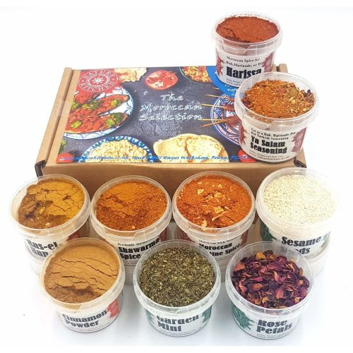 Moroccan Spice And Seasoning Selection Gift Box