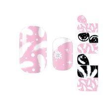 Beautiful Feather Set of 3 Nail Art Sticker Nail Decals Nail Wrap Decoration