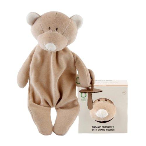 Wooly Organic Comforter Teddy