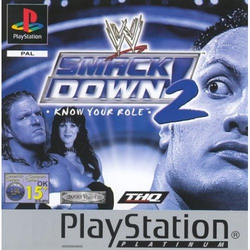 Wwe Smackdown 2 - Know Your Role - WWF Smackdown 2: Know Your Role - Platinum (PS)
