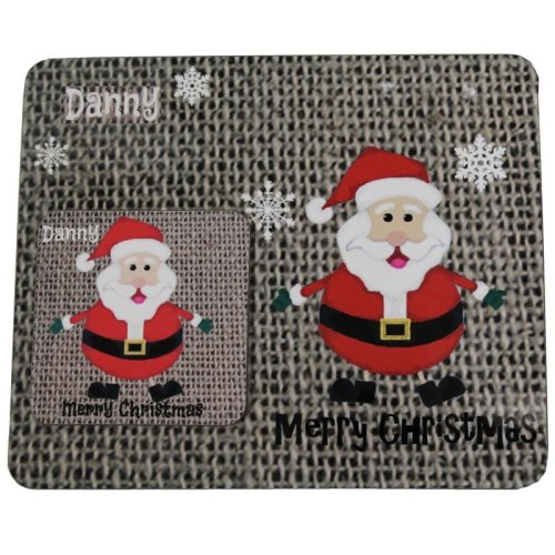 Personalised Christmas Gift Coaster & Place mat