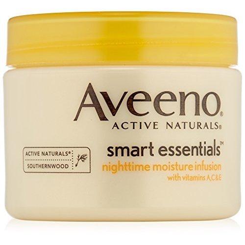 Aveeno Smart Essentials Nighttime Moisture Infusion, 1.7 Ounce