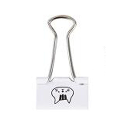 Fashion High Quality Large Binder Clips, Various Color, Pack of 6, #C2