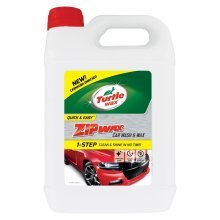 Turtle Wax Zip Super Concentrated Car Wash Shampoo & Wax 2.5 Litre