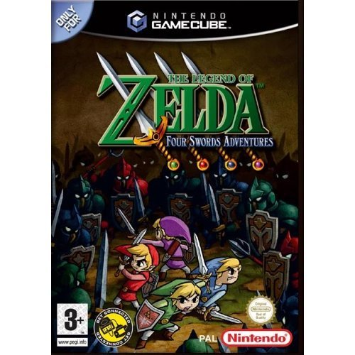 The Legend of Zelda - The Legend of Zelda: Four Swords Adventures (GameCube)