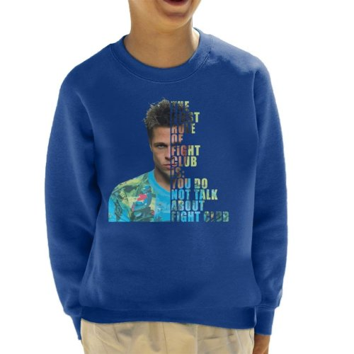 Fight Club Tyler Durden Half Head Kid's Sweatshirt