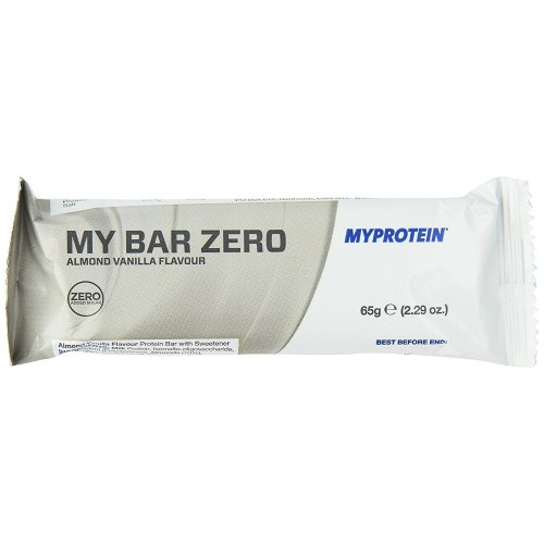 MyProtein Zero Bars Almond Vanilla Flavour  pack of 12