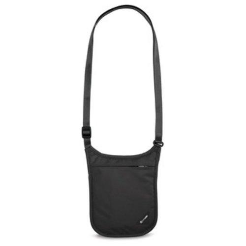 Pacsafe Coversafe V75 RFID Blocking Neck Pouch (Black)
