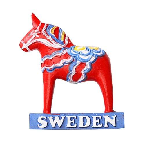 1 PCS Resin Fridge Magnet Kitchen Refrigerator Magnet Sweden Series - 10