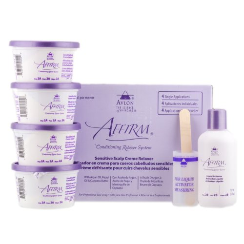 Avlon Affirm Sensitive Relaxer Kit