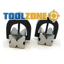 Toolzone V Block And Clamp Set -  toolzone v block clamp set