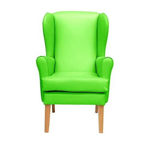 MAWCARE Morecombe Orthopaedic High Seat Chair - 21 x 18 Inches [Height x Width] in Manhattan Lime (lc21-Morecombe_m)