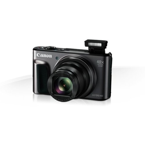 """Canon PowerShot SX720 HS 20.3MP 1/2.3"""" CCD 5184 x 3888pixels Black"""