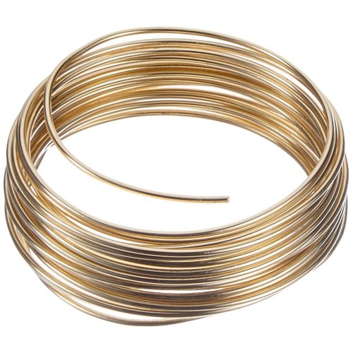 Efco 2 mm x 5 m 42 g Approximately Aluminium Anodised Wire, Gold