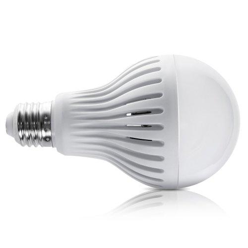 Maclean MCE176Â LED Lamps with Microwave Motion Sensor E27Â 12Â W, cool  white