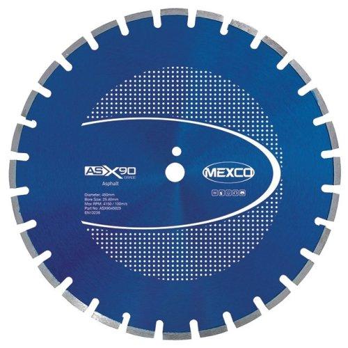Mexco ASX90 450mm Asphalt Diamond Blade