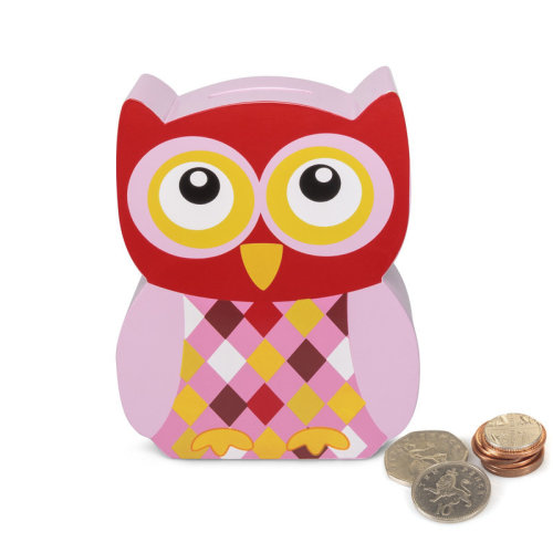 Owl Money Box -