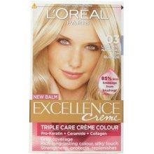 3pc L'Oréal Excellence Creme Hair Colour | 03 Lightest Natural Ash Blonde