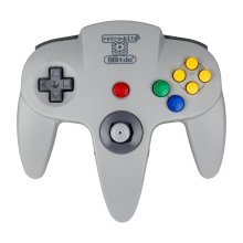 8Bitdo N64 Bluetooth Controller (PC/Mac OS/Nintendo Wii U/PS3/Electronic Games)