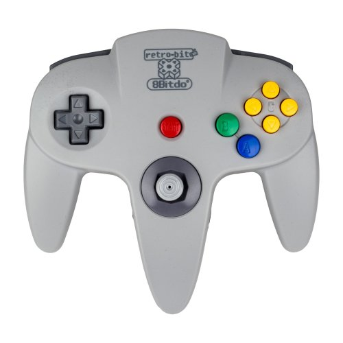 8Bitdo N64 Bluetooth Controller (PC/Mac OS/Nintendo Wii U/PS3/Electronic Games)