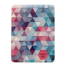 Check Psychedelic Metal Cover Notebook Creative Stationery Notepad--B