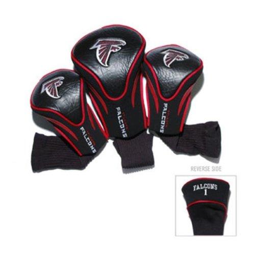 Team Golf 30194 Atlanta Falcons 3 Pack Contour Fit Headcover