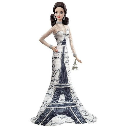 Barbie Collector Dolls Of The World Eiffel Tower Doll