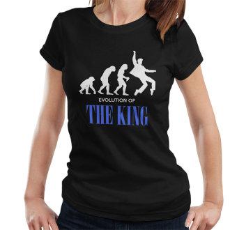 The Evolution Of The King Elvis Presley Women's T-Shirt