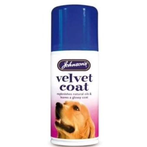 Johnson's Velvet Coat Aerosol, 150ml