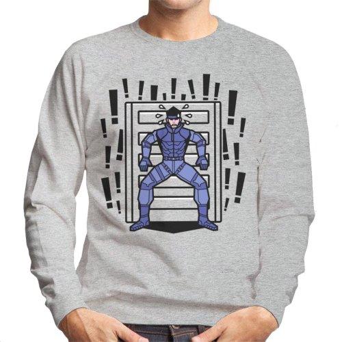 Alert Snake Metal Gear Solid Men's Sweatshirt