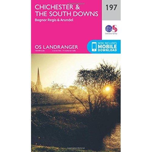 Landranger (197) Chichester & The South Downs (OS Landranger Map)