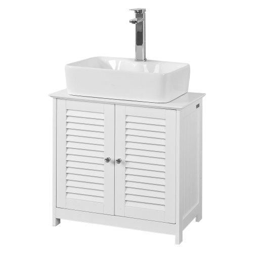 SoBuy® FRG237-W, Under Sink Bathroom Storage Cabinet Storage Cupboard