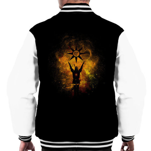 Praise The Sun Art Solaire of Astora Dark Souls Men's Varsity Jacket
