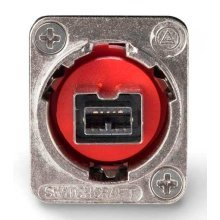 Switchcraft Cross Wired Firewire Coupler Silver