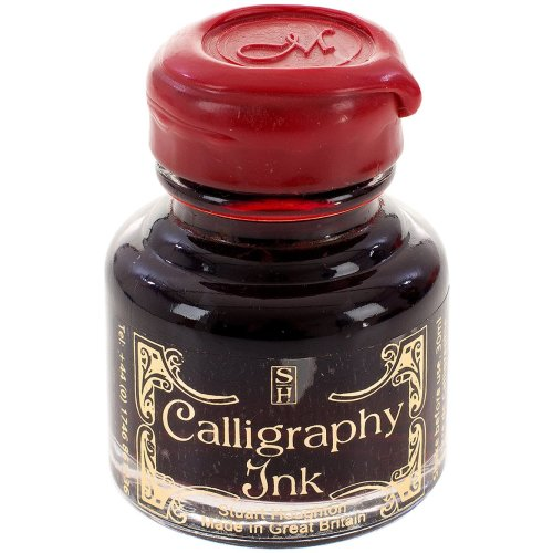 Manuscript Calligraphy Ink 30ml 6/Pkg-Ruby, MSRP $7.95 Per Bottle