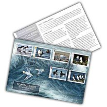 Coastal Birds of the Isle of Man by Jeremy Paul First Day Cover