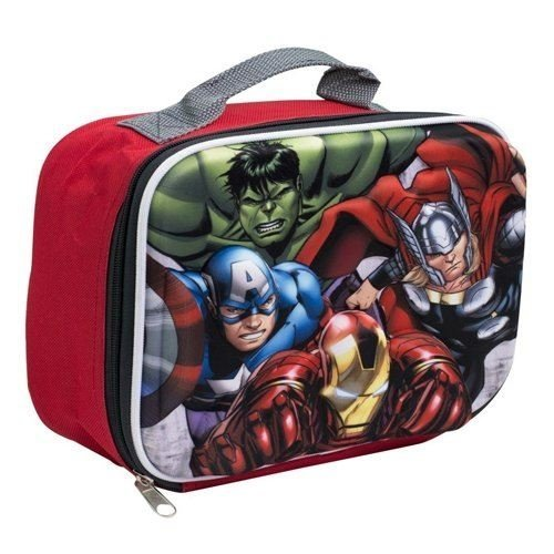 Avengers Zip Up Lunch Box Bag