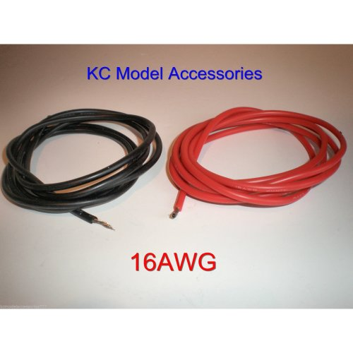 16 AWG Black-Red Silicone Wire 2 Meter Lipo Battery Cable ESC Good Quality