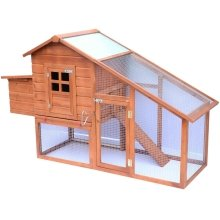 Pawhut House Rabbit Hutch Ark Coup W190xd66xh116cm