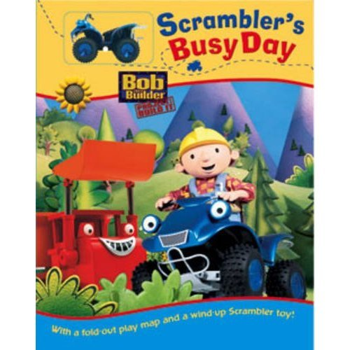 Bob the Builder: Scrambler's Busy Day (Bob the Builder Track Book)