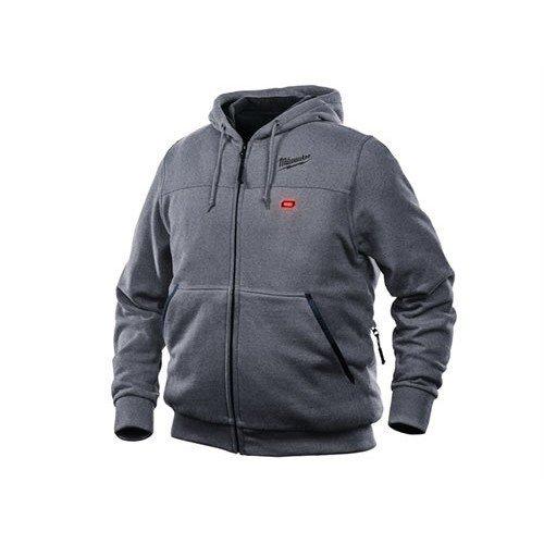Milwaukee MILM12HHGL Grey Heated Hoody - Large
